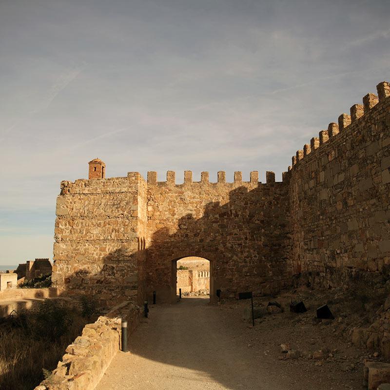 Muralla castillo romano de Sagunto